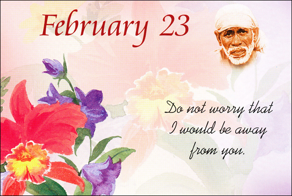 Daily Sai Baba's Blessings Messages