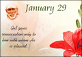 January 29, 2013