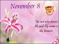 November 8, 2012