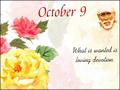 October 9, 2016
